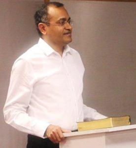 Pastor Finney Varghese